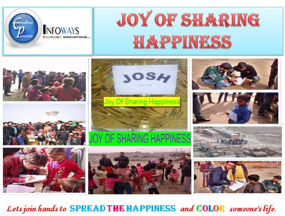 Joy of Sharing Happiness